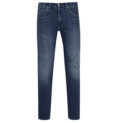 Edwin ED-55 Regular Tapered Red Listed Dunkelblaue Jeans