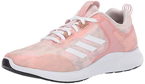 adidas Women's Edgebounce 1.5 Running Shoe, Pink Spirit/White/Echo Pink, 5 M US