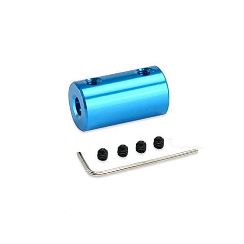 Basic Cellphone Cases Cnc Parts Coupler 10x20mm Aleación de aluminio Acoplamiento rígido para conector de motor Manga del eje (diámetro interior: 1x1mm)