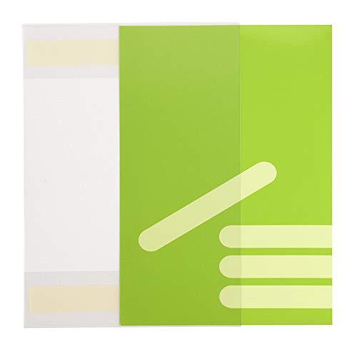 10 Stück DIN A5 Sichttasche im Hochformat, selbstklebend - Zeigis® / Infotasche/Schildhalter/Plakattasche/Blatthalter/Inforahmen/Einstecktasche/Plakathalter/kleben