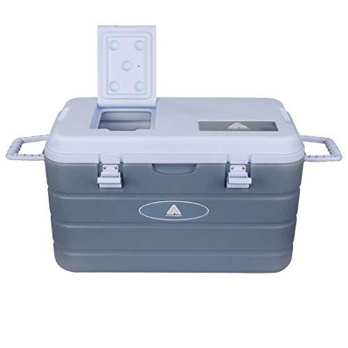 10T Kühlbox Fridgo Arona 40 L passive Thermobox warm & kalt PU Kühlbehälter Isolierbox Deckelklappe