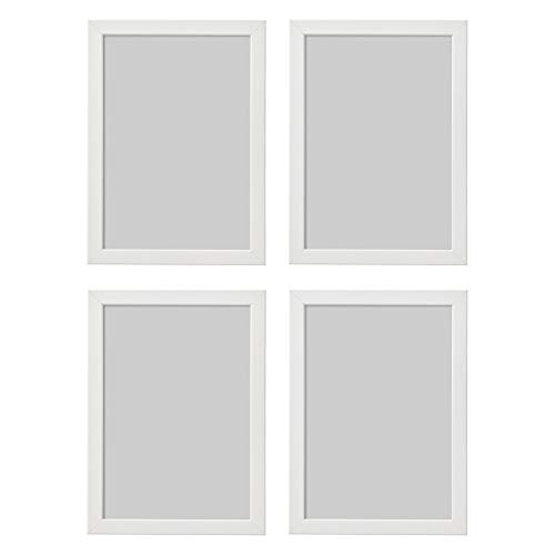 Ikea Fiskbo White A4 21x30cm Photo Frame Set Of 4