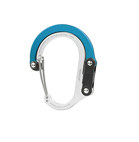 HEROCLIP Carabiner Clip and Hook (Small)   for Purse, Stroller, and Backpack