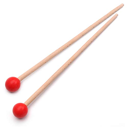 Muslady Bacchette per xilofono Marimba 1 paio professionale Parti di percussioni Lunghezza 365mm
