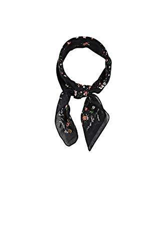 ESPRIT edc by Accessoires Damen 021CA1Q304 Mode-Schal, 001/BLACK, 1SIZE