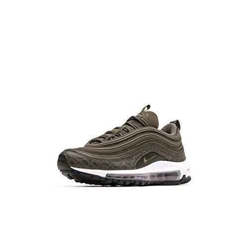 Nike W Air Max 97 LX, Chaussures d'Athlétisme Femme, Multicolore (Cargo Khaki/Cargo Khaki/Sequoia 301), 41 EU