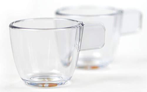 Handpresso 48210 Tassen-Set Pump bestehend aus 2 unzerbrechlichen Tassen für 50 ml Espresso Auto