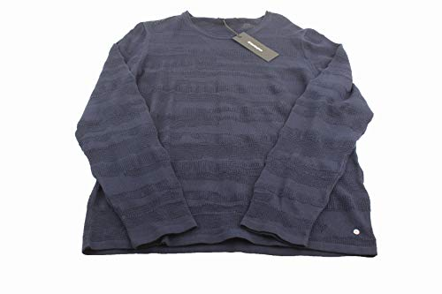 Burlington Herren Pullover Strickpullover Gr: 50 blau Neu