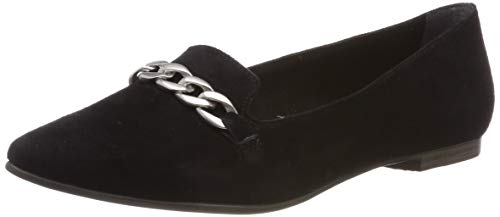 s.Oliver Damen 5-5-24201-22 001 Slipper, Black, 38 EU