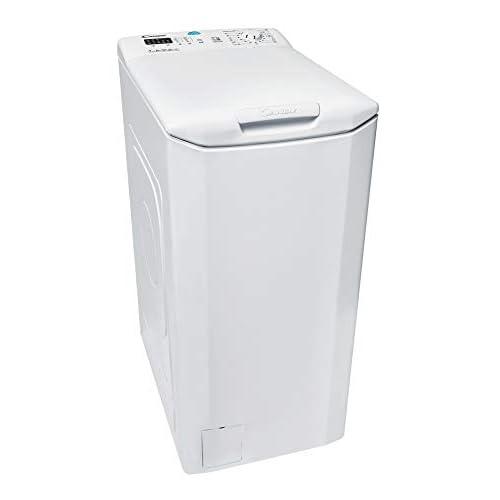 Candy CST 372L-S Lavatrice Carica dell'alto, 7 kg, 1200 rpm, Connettività NFC, Bianco, Classe energetica A+++