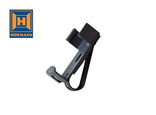 Hörmann Handsenderhalterung mit Sonnenblendenclip für HS1, HS4, HSM4 Handsendern