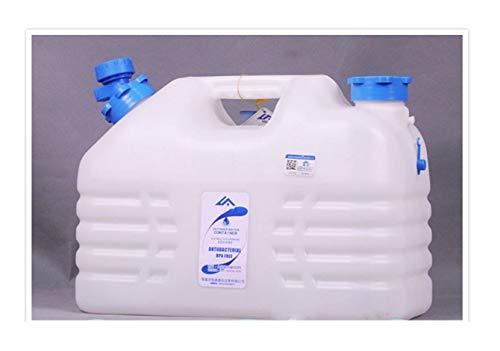 ZSYGFS Bidón De Agua 10L Bidón De Agua Sin BPA Envase del Agua Que Acampa Envase Grande del Agua del Barril De Cerveza Portátil Tanque De Almacenamiento De Agua Portátil Acampar