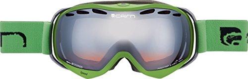 Cairn – skibril snowboard – Speed heren – neongroen Spx 3000 zilver