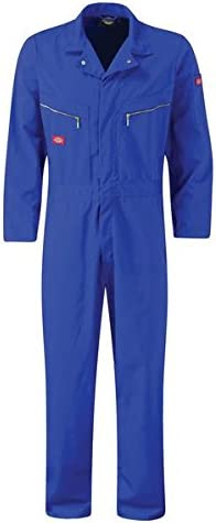 Taille fabricant: 50UK//54FR Dickies WD4839 Combinaison de travail XX-Large Rouge Rouge