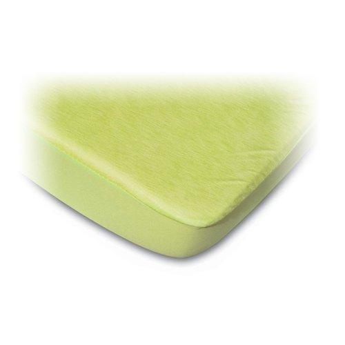 b-sensible–Spannbettlaken Nässeschutzauflage grün pistazie 60x120cm