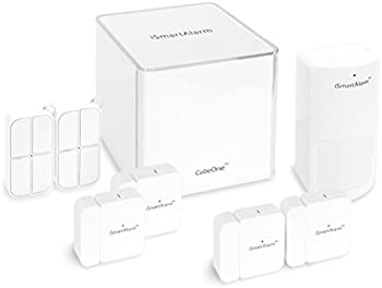 iSmartAlarm Deluxe Home Security Package Compatible iOS & Android App