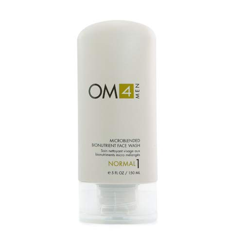 Organic Male OM4 Normal STEP 1: Microblended Bionutrient Face Wash - 5 oz
