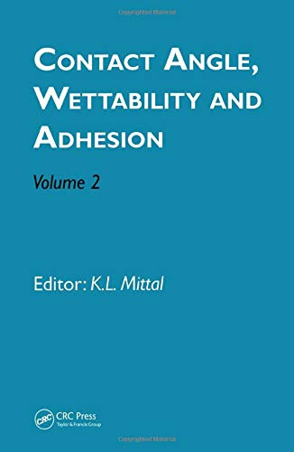 Mittal, K: Contact Angle, Wettability and Adhesion, Volume 2