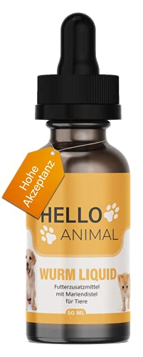 HelloAnimal® Liquide vermifuges intestinaux végan...