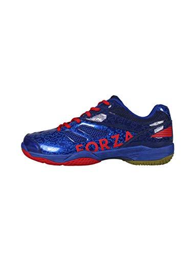 FZ Forza - Indoor Schuh Court Flyer - blau, für Damen und Herren - geeignet für Squash, Badminton, Tennis etc. - 40,5