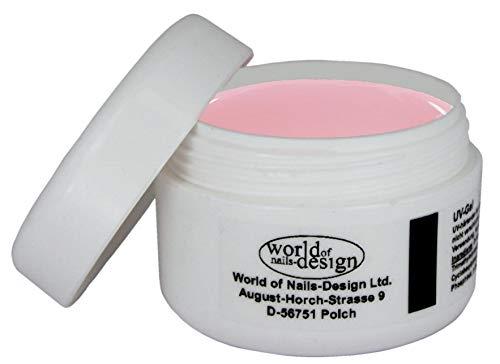 World of Nails-Design BasicLine 30ml LED/UV 1Phasen-Gel Milky Rosé dick, rosa milchig Babyboomer Look