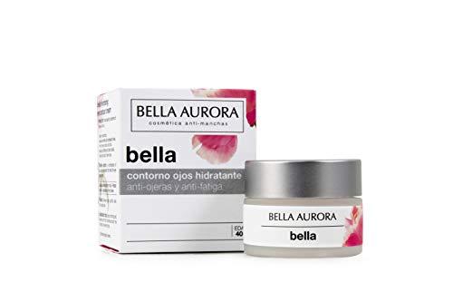 Bella Aurora Crema Contorno de Ojos Hidratante Anti-ojeras Anti-fatiga, Reduce Bolsas, Manchas y Atenúa las Arrugas, 20 ml