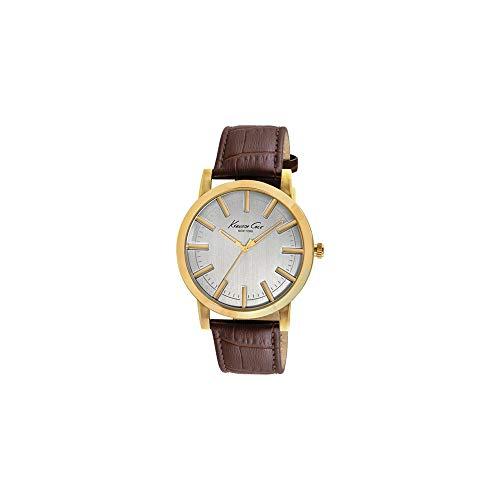 Kenneth Cole Reloj analogico para Hombre de Cuarzo con Correa en Piel IKC8043