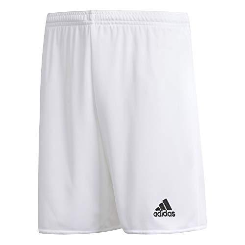 adidas Boys' Standard Parma 16 Shorts, White/Black, Small