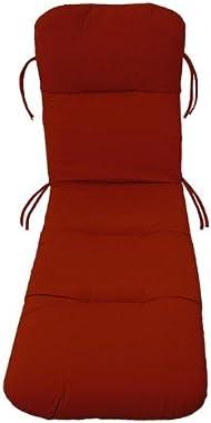 Comfort Classics Inc. Sunbrella Outdoor Chaise Cushion in Jockey Red
