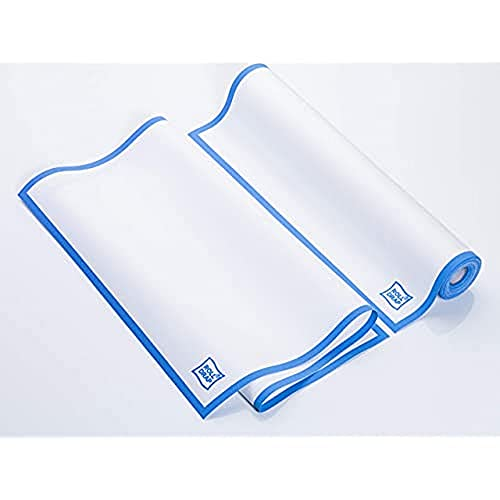ROLL DRAP. Pack 10 Paños de Cocina 100% Algodón 40x64cm. Lote 10 Trapos Absorbentes para secar Platos y Vasos. OEKO-TEX