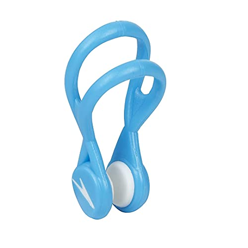 Speedo Unisex Swim Nose Clip Liquid Comfort Charcoal, One Size
