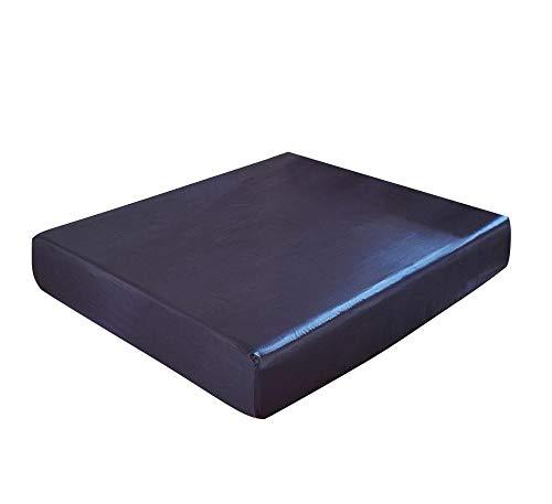 CYYyang Protector de colchón de Rizo algodón y Transpirable Funda Protectora de sábana de Color Puro-Royal Blue_180 * 200 * 30cm
