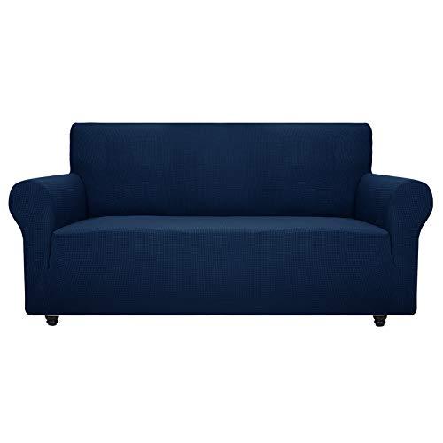 ZNSAYOTX - Funda de sofá súper elástica para Sala de Estar, Perros, Protector de Muebles de Licra, con Varillas de Espuma...