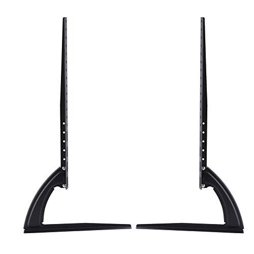 """Patas para soporte de TV, soporte universal para soporte de TV, soporte vertical de pedestal, soporte de mesa con soporte de escritorio de mesa ajustable en altura, soporte para TV(32""""-70"""")"""