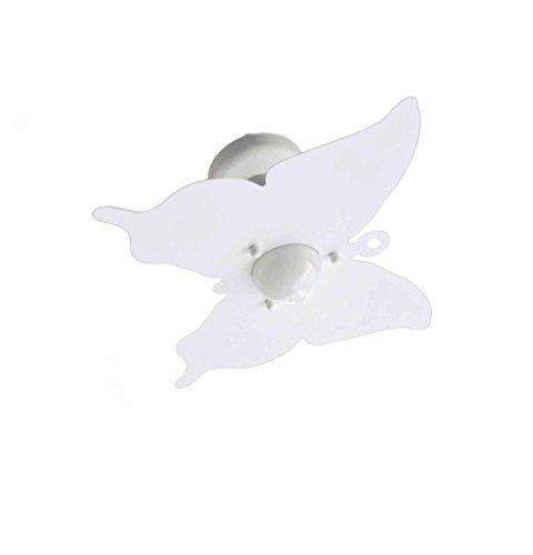 Plafoniera Farfalla Bianco per Camerette Stanzette Bambini