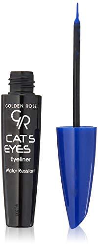 Golden Rose Matte Catseye Blue Eyeliner, Water Resistant by Golden Rose
