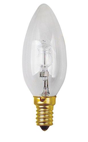 Girard Sudron Glühlampe Watts-Flamme C35 Eco-Halo 30W E14 2750K 410Lm Dim Cl, Weiß