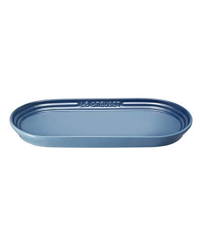 ル・クルーゼ(Le Creuset) 皿 ネオ・オブロング・プレート 25 cm マリンブルー 耐熱 耐冷 電子レンジ オーブン 対応 【日本正規販売品】