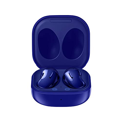 SAMSUNG Galaxy Buds Live Auricolari True Wireless Open-type senza tappi In-Ear, Tre Microfoni, Controlli Touch, Ricarica Wireless, Cancellazione attiva del rumore, Blue [Versione Italiana]