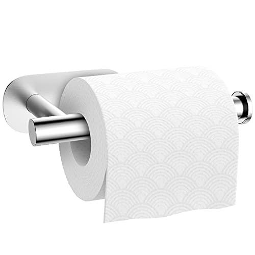 Toilettenpapierhalter ohne Bohren Klopapierhalter Selbstklebend Papierhalter Edelstahl für Badezimmer