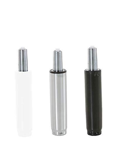 CLP Gaslift für Bürostühle I Gasdruckfeder für diverse Schreibtischstühle I verschiedene Modelle, Farbe:schwarz, Größe:220 mm