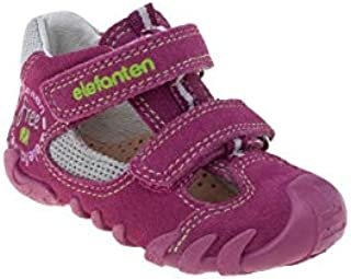 elefanten First Shoes - Babies Free - Soft, High-Quality Leather, with an Anatomic Pad, 3 Part Flaxibale Sole Allows Free Movment