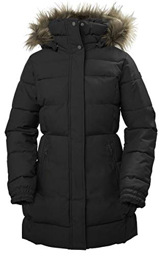 Helly Hansen Damen Blume Puffermantel Wasserdicht Isolierung Parka Winterjacke, Black, XS