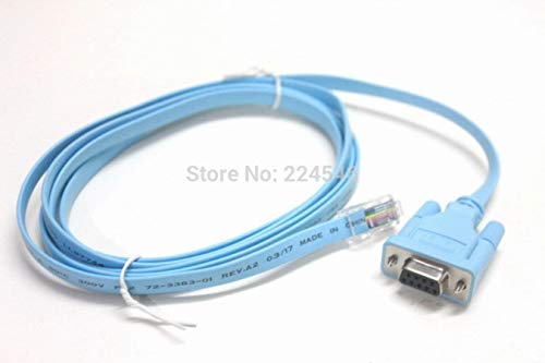 Miwaimao 6FT 72-3383-01 Console Cable RJ45 Male TO DB9 Female For Cisco...