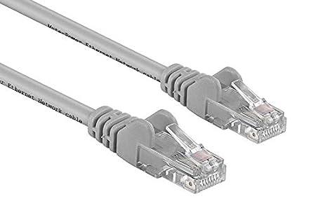 MutecPower 10m Cable de Red ethernet Cat6 con Enchufe RJ45 - Gris - 10 Metros