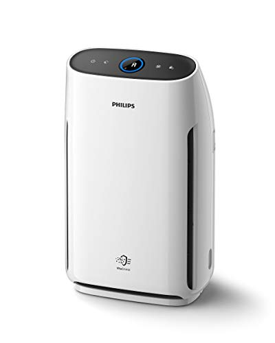 Philips 1000 series AC1217/10 - Purificador de aire (62 m², 1,8 m, 260 m³/h, China, ECARF, Blanco)