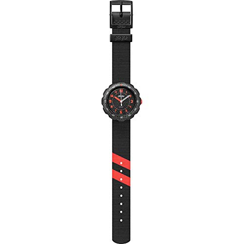 Flik Flak Jungen Analog Quarz Uhr mit Textil Armband FPSP032