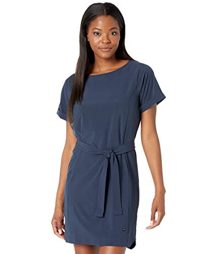 Helly Hansen Vestido de Verano Thalia para Mujer, Mujer, Vestido, 34164, Azul Marino, Large