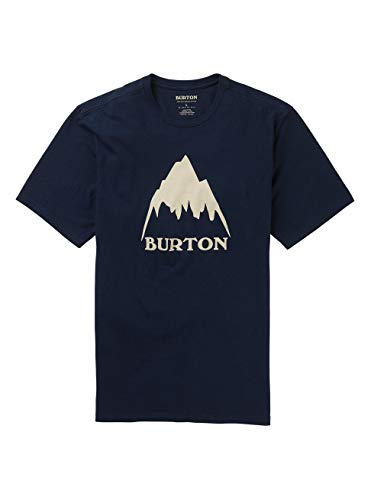 Burton Classic Mountain High, Maglia A Maniche Corte Uomo, Dress Blue, XXL