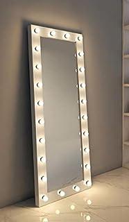 Led lightning mirror 180x70 - White
